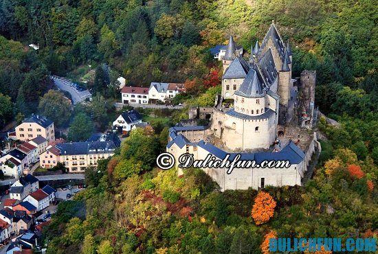 Chia sẻ kinh nghiệm du lịch Luxembourg tự túc và an toàn. Hướng dẫn du lịch Luxembourg đầu đủ từ A đến Z