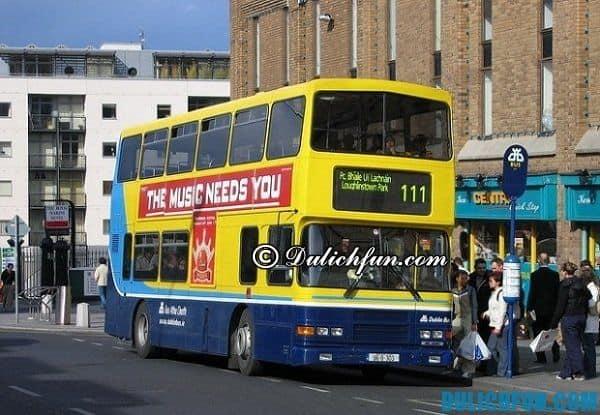 Hướng dẫn du lịch Ireland. Phương tiện đi lại khi du lịch Ireland