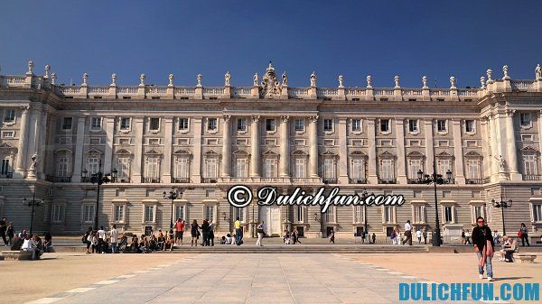 Kinh nghiệm vui chơi, tham quan, du lịch Madrid. Địa điểm tham quan nổi tiếng ở Madrid