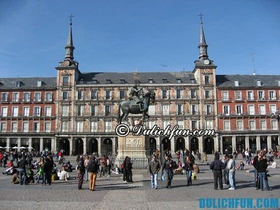 Địa điểm tham quan nổi tiếng ở Madrid: Tour du lịch Madrid giá rẻ
