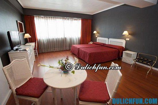 Hướng dẫn du lịch Madrid. Khách sạn tốt và chất lượng ở Madrid