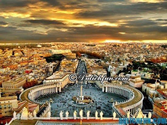 Kinh nghiệm du lịch Vatican tự túc từ A-Z, đi du lịch Vatican có gì hấp dẫn?