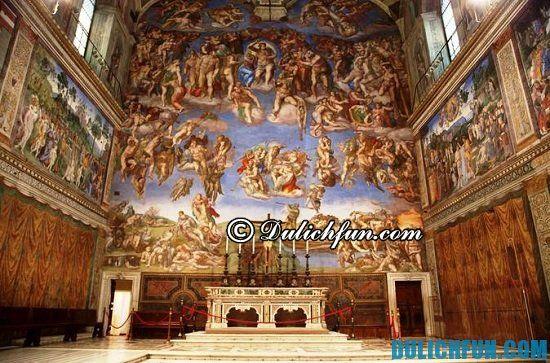 Đi đâu chơi khi du lịch Vatican/ Những điểm đến nổi tiếng ở Vatican: tour du lịch Vatican giá rẻ
