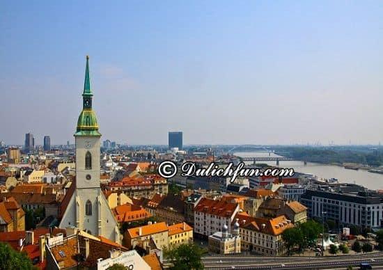 Du lịch Slovakia nên đi đâu? Thành phố Bratislava, địa điểm du lịch đẹp, nổi tiếng nhất ở Slovakia - kinh nghiệm du lịch Slovakia