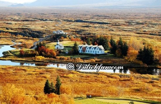 Du lịch Iceland có gì thú vị? Thingvellir, địa điểm tham quan, du lịch nổi tiếng ở Iceland - Kinh nghiệm du lịch Iceland