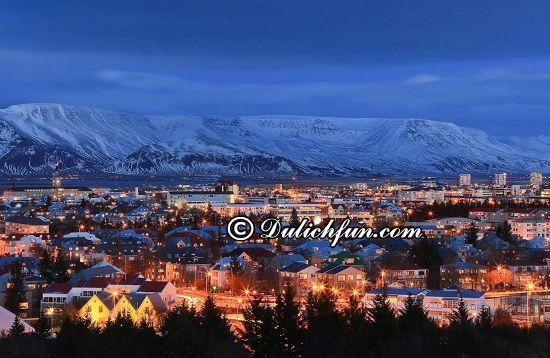 Đi đâu, chơi gì khi du lịch Iceland? Thủ đô Reykjavik, địa điểm tham quan, du lịch nổi tiếng ở Iceland - Kinh nghiệm du lịch Iceland