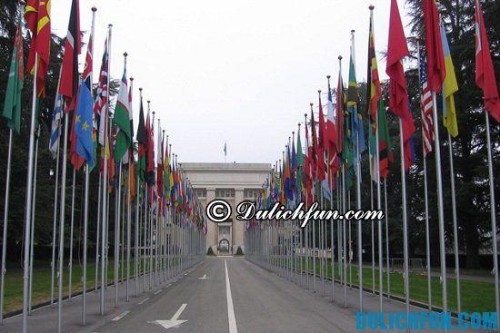 Tòa nhà Liên Hợp Quốc, địa điểm tham quan du lịch hấp dẫn ở Geneva