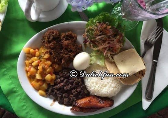 Ăn gì khi du lịch Costa Rica? Casado, món ăn ngon, đặc sản nổi tiếng ở Costa Rica