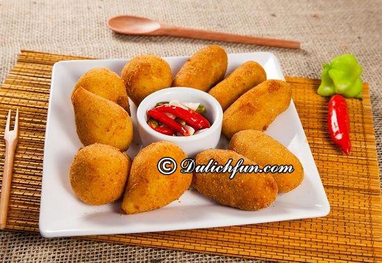 Ăn gì khi du lịch Brazil? Món Coxinhas, món ăn ngon, đặc sản nổi tiếng ở Brazil