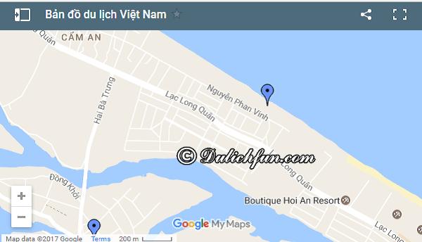 Đường tới An Bàng/ Cách di chuyển tới biển An Bàng từ Hội An: Hướng dẫn đường đi du lịch biển An Bàng nhanh, thuận tiện
