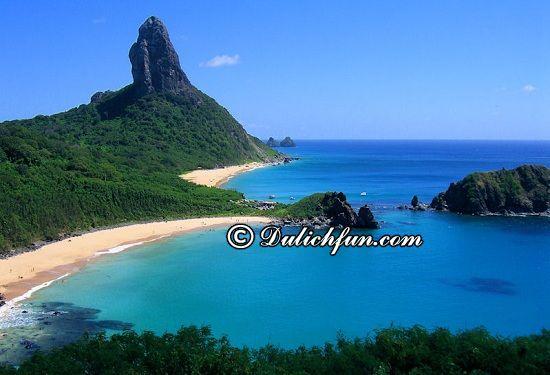 Đi đâu, chơi gì khi du lịch Brazil? Quần đảo Fernando de Noronha, địa điểm tham quan, du lịch nổi tiếng ở Brazil