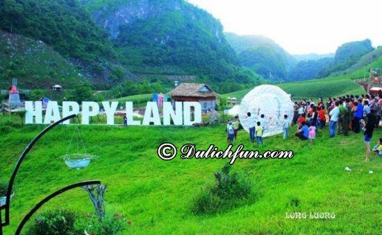 Ở Mộc Châu có chỗ nào chụp ảnh cưới đẹp? Mộc Châu Happy Land, địa điểm chụp ảnh cưới đẹp, lãng mạn ở Mộc Châu