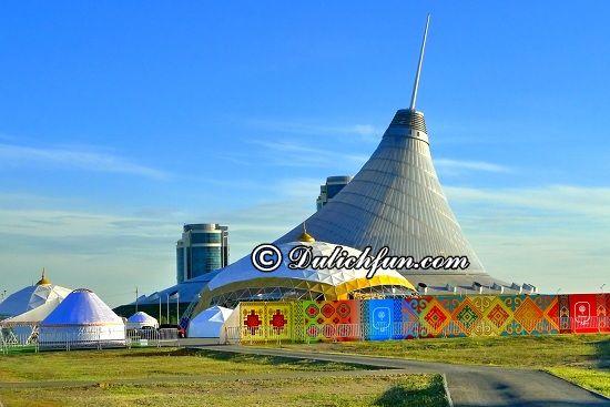 Chia sẻ kinh nghiệm du lịch Kazakhstan. Hướng dẫn du lịch Kazakhstan tự túc, an toàn và thuận lợi