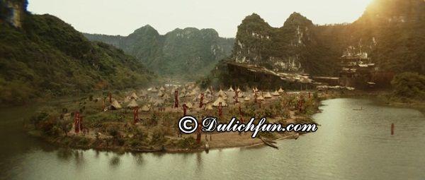 Du lịch những địa danh ở Ninh Binh trong phim King Kong: Địa điểm quay phim nổi tiếng ở phim Kong tại Ninh Bình