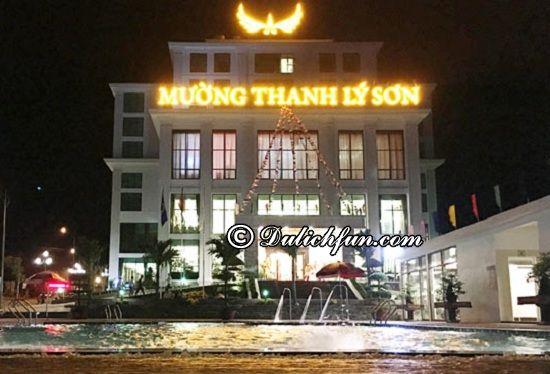 Khách sạn Mường Thanh Holiday Lý Sơn, nhà nghỉ, khách sạn đẹp, chất lượng và tiện nghi ở Lý Sơn. Những khách sạn nổi tiếng ở Lý Sơn