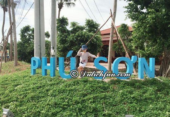 Ở đâu khi du lịch Bãi Sao? Phu Son Village Resort, địa chỉ nhà nghỉ, khách sạn giá rẻ, tiện nghi ở Bãi Sao