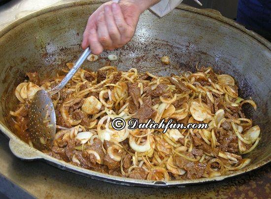 Ăn gì khi du lịch Kazakhstan? Quwyrdaq(Kuurdak), món ăn ngon, đặc sản hấp dẫn ở Kazakhstan