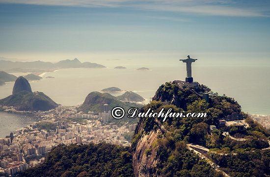 Du lịch Brazil nên đi chơi đâu? Rio de Janeiro, địa điểm tham quan, du lịch đẹp, nổi tiếng ở Brazil