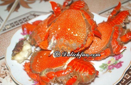 Ăn gì khi du lịch đảo Lý Sơn? Cua Huỳnh Đế, món ăn ngon, đặc sản hấp dẫn ở đảo Lý Sơn
