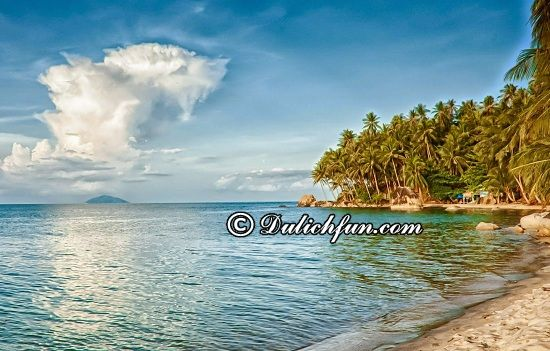 Du lịch Kiên Giang nên đi chơi đâu? Đảo Hải Tặc, địa điểm tham quan, du lịch lý tưởng ở Kiên Giang
