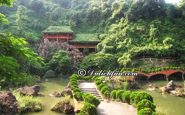 Du lịch Thiên Sơn - suối Ngà (Ba Vì)