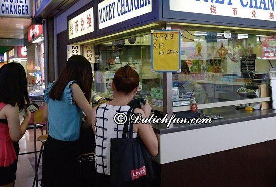 Ở Singapore có chỗ nào đổi tiền? Kinh nghiệm đổi tiền Singapore tại Singapore và tỷ giá