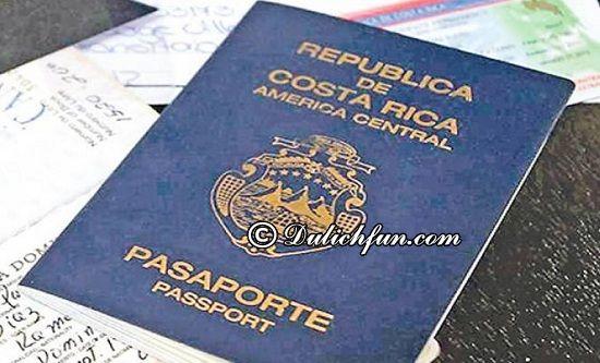 Du lịch Costa Rica có cần Visa không? Hướng dẫn chi tiết cách xin Visa du lịch Costa Rica