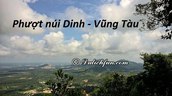 Kinh nghiệm phượt núi Dinh, Vũng Tàu: Cảnh đẹp trên đỉnh núi Dinh, Vũng Tàu