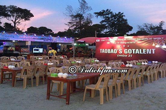 Ăn uống ở đâu khi du lịch Cô Tô? Nhà hàng trên bãi biển Ngọc Quỳnh, nhà hàng, quán ăn ngon, hấp dẫn ở Cô Tô được yêu thích nhất