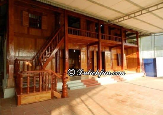 Nhà nghỉ cộng đồng Thành Công, địa chỉ nhà sàn, nhà nghỉ giá rẻ, chất lượng tiện nghi ở Mộc Châu