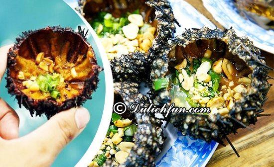 Ở Bãi Sao, Phú Quốc có đặc sản gì? Nhum biển nước mỡ hành, những món ăn ngon, đặc sản nổi tiếng nhất ở Bãi Sao