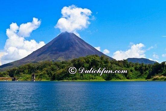Du lịch Costa Rica có gì thú vị? Núi lửa Arenal, địa điểm tham quan, du lịch thú vị ở Costa Rica
