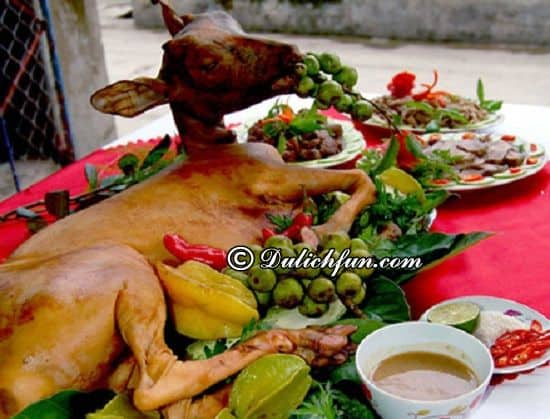 Điểm tên những địa điểm ăn ngon ở Côn Đảo. Quán Dê Lang Thang, địa chỉ nhà hàng, quán ăn ngon, hấp dẫn ở Côn Đảo