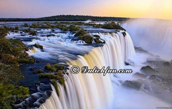 Du lịch Paraguay nên đi đâu chơi? Thác Iguazu, địa điểm du lịch đẹp, nổi tiếng nhất ở Paraguay