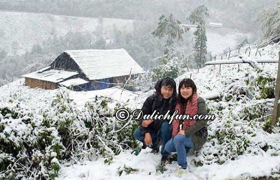 Du lịch Sapa nên đi đâu để ngắm tuyết? Thời điểm ngắm tuyết ở Sapa và địa điểm ngắm tuyết ở Sapa