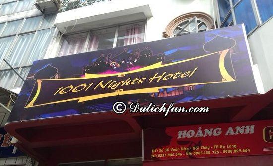 1001 Nights Hotel, địa chỉ nhà nghỉ, khách sạn tốt, giá mềm ở Bãi Cháy nổi tiếng nhất