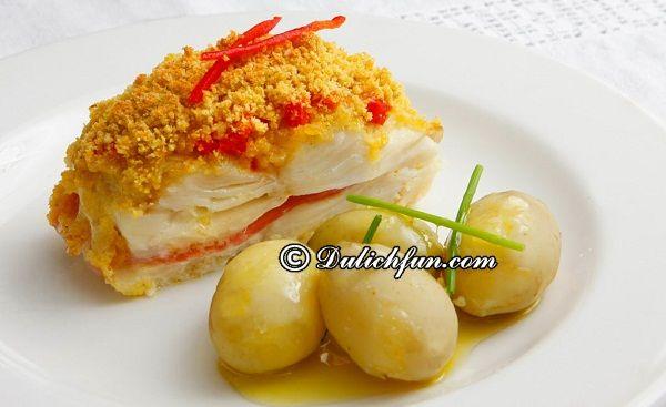 Món ngon đặc sản nổi tiếng không thể bỏ qua ở Bồ Đào Nha. Du lịch Bồ Đào Nha nên ăn gì? Ẩm thực truyền thống ngon ở Bồ Đào Nha.