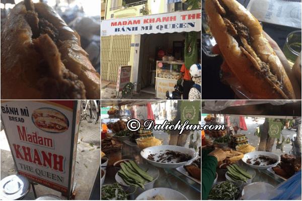 Quán bánh mì ngon, nổi tiếng nhất ở Hội An. Địa chỉ quán bánh mì ngon nhất ở Hội An
