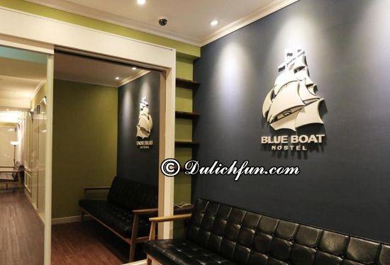 Nên ở đâu khi du lịch Busan? Blueboat Hostel Nampo (Blue Boat Hostel Nampo), địa chỉ khách sạn đẹp, giá rẻ ở Busan