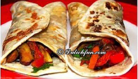 Frankie, món ăn ngon, đặc sản ở Mumbai: Du lịch Mumbai nên ăn món gì?