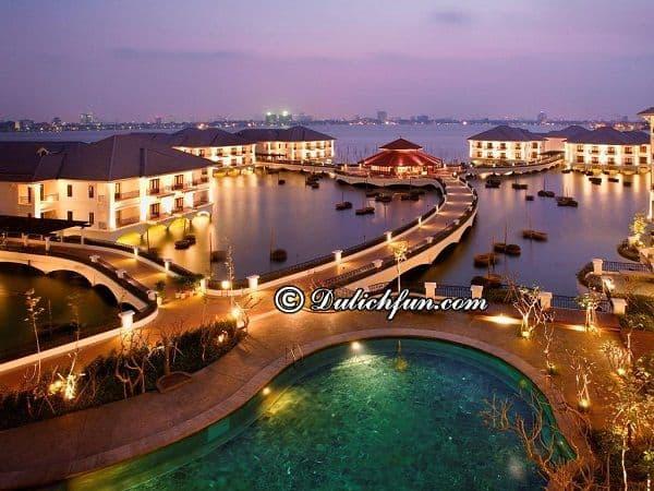 Du lịch Hà Nội nên ở khách sạn nào gần Hồ Tây? Khách sạn quận Tây Hồ đẹp, view ra hồ, phòng ốc tốt.