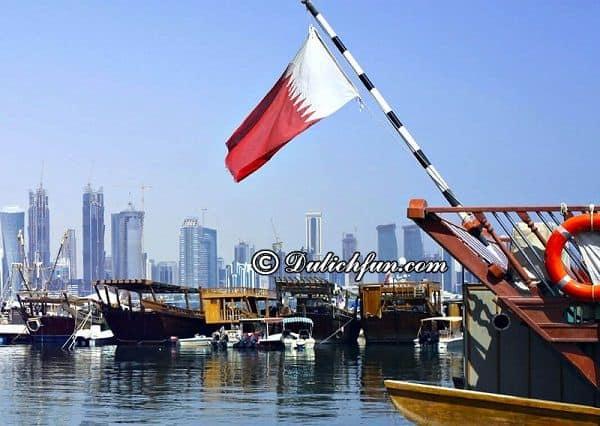 Kinh nghiệm du lịch Qatar đẹp - Tiểu vương quốc Trung Đông: Hướng dẫn lịch trình tham quan, vui chơi, ăn uống khi du lịch Qatar