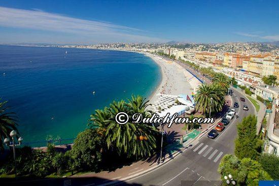 Kinh nghiệm du lịch Nice: Du lịch thành phố Nice có gì thú vị? Promenade des Anglais, địa điểm tham quan, du lịch ấn tượng, thú vị ở Nice