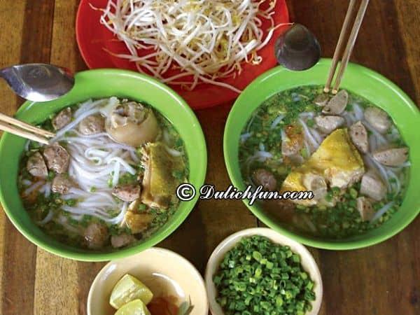 Những quán ăn ngon ở thị xã Châu Đốc: Du lịch Châu Đốc đi đâu ăn ngon, bổ, rẻ?