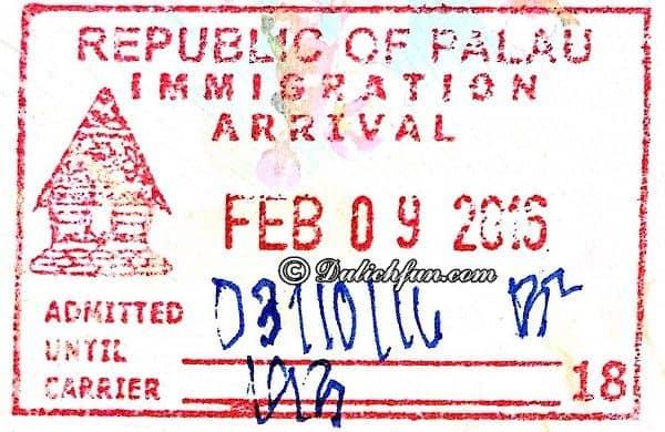 Thủ tục cấp visa du lịch Palau. Hướng dẫn, toàn tập cẩm nang du lịch Palau đi lại, ăn uống, visa, điểm tham quan đẹp.