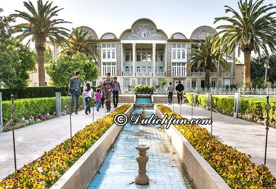 Nên đi đâu, chơi gì khi du lịch Iran? Vườn Eram Garden, địa điểm tham quan, du lịch đẹp, nổi tiếng ở Iran