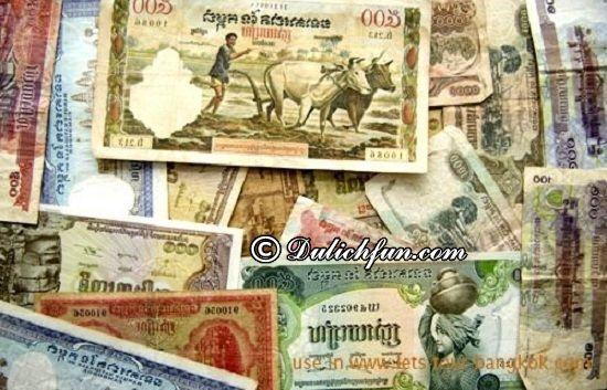 Đổi tiền Campuchia ở đâu, như nào? Tỷ giá tiền Campuchia? Kinh nghiệm đổi tiền du lịch Campuchia