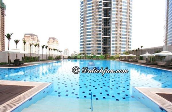 Những bể bơi đẹp ở Sài Gòn sang chảnh, chất lượng. Muốn bơi ở Sài Gòn thì nên đi đâu? Những bể bơi giá tốt đông khách nhất Sài Gòn