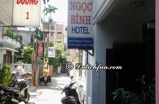 Những nhà nghỉ, khách sạn đẹp, giá rẻ ở Huế giá dưới 100k