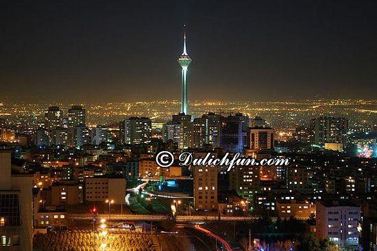 Kinh nghiệm du lịch Iran - Du lịch Iran có gì thú vị? Tháp Milad, địa điểm tham quan đẹp, lý tưởng ở Iran